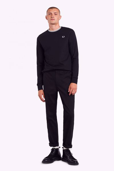 Billede af Fred Perry Twin Tipped L/S T-shirt