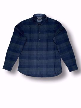 Billede af Casual Friday Checked Shirt Navy