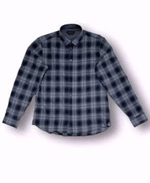 Billede af Casual Friday Checked Shirt Black
