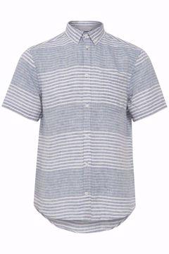 Billede af Casual Friday SS Striped Linen Shirt