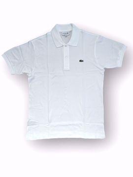 Billede af Lacoste Classic Logo Polo Hvid