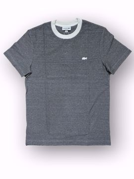 Billede af Lacoste Striped Linen T-shirt