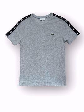 Billede af Lacoste Taped T-shirt Grå